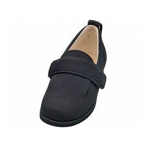 介護靴 施設・院内用 ダブルマジック2 7E(ワイドサイズ) 7006 片足 徳武産業 あゆみシリーズ /6L (28.0〜28.5cm) ブラック 右足