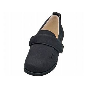 介護靴 施設・院内用 ダブルマジック2 7E(ワイドサイズ) 7006 片足 徳武産業 あゆみシリーズ /6L (28.0〜28.5cm) ブラック 左足