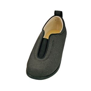 介護靴 施設・院内用 センターゴム2 1023 両足 徳武産業 あゆみシリーズ / M 黒