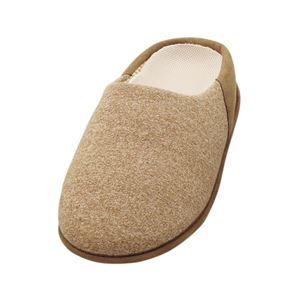 介護靴 室内用 チャルパー 2223 両足 徳武産業 あゆみシリーズ /LL(25.0〜26.0cm) ブラウン