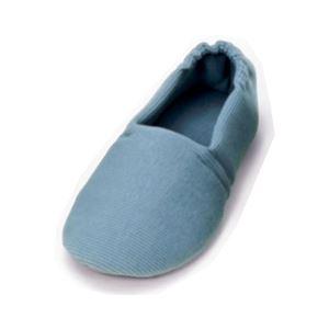 介護靴 室内用 エスパドワイド 2704 両足 徳武産業 あゆみシリーズ /M(22.0〜23.0cm) ブルー