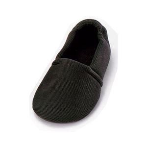 介護靴 室内用 エスパドワイド 2704 両足 徳武産業 あゆみシリーズ /LL(25.0〜26.0cm) ブラック