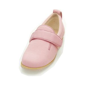 介護靴 施設・院内用 ダブルマジック2 5E(ワイドサイズ) 7005 両足 徳武産業 あゆみシリーズ /LL (24.0〜24.5cm) ピンク