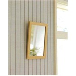 木製スタンド付きミラー 【サイズ 約247×298×28〜250mm】 日本製 ナチュラル