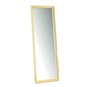 壁掛けミラー・木製ミラー/木製姿見鏡 【壁掛け用】 日本製 ■桧(檜)姿見
