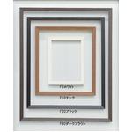 【仮縁油絵額】高級仮縁・キャンバス額・油絵額 ■木製仮縁F130(1940×1620mm)ダークブラウン
