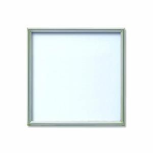 【角額】アルミ正方形額・壁掛けひも・アクリル付き ■400角(400×400mm)シルバー