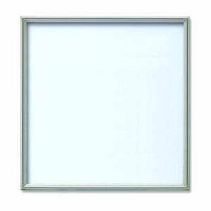 【角額】アルミ正方形額・壁掛けひも・アクリル付き ■500角(500×500mm)シルバー