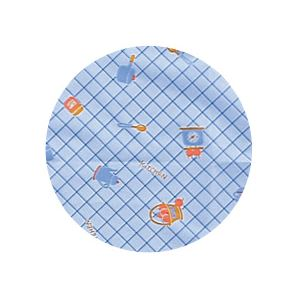 (まとめ)宇都宮製作 生き活きお食事用エプロン袖付 ブルー N189-F【×2セット】
