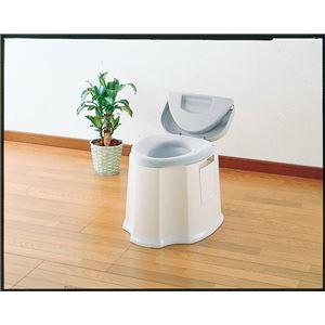 アロン化成 樹脂製ポータブルトイレ 安寿ポータブルトイレGX 533-093