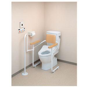 TOTO トイレ用手すり トイレ用手すりアシストバー付(2)背付(アプリコットF12用) EWCS223-11