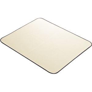 アロン化成 ポータブルトイレ用マット 両面すべり止付消臭・防水マット ベージュ 536-021