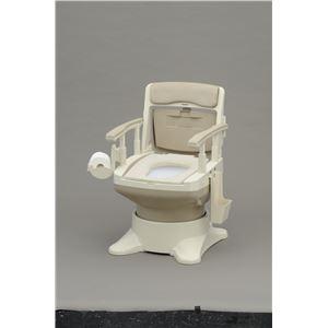 パナソニックエイジフリーライフテック 樹脂製ポータブルトイレ ポータブルトイレ座楽アウーネ(1)標準タイプベージュ VAL30101C