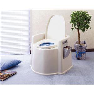 幸和製作所 樹脂製ポータブルトイレ テイコブポータブルトイレDX PT02