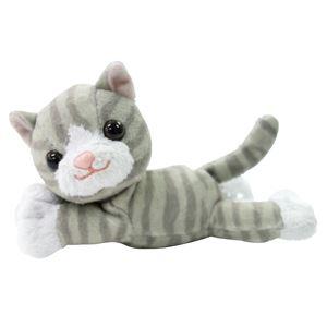 (まとめ)マキテック 杖小物 おでかけマスコット (3)サバトラ猫 OM-10SC【×3セット】