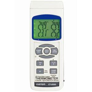 Kタイプ熱電対温度計(4chタイプ) custom(カスタム) CT-05SD