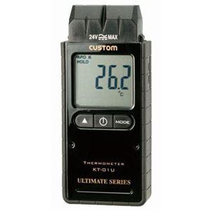 熱電対温度計 1チャンネルKタイプ custom(カスタム) KT-01U