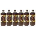 堤酒造 焼酎蔵の発酵 黒豆力 プレミアム発酵 黒大豆搾り 720ml   6 本