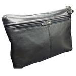 日本製 豊岡の鞄 セカンドバッグ 書類ケース ブラック 23469