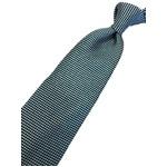 ネクタイ 小柄シリーズ 日本製シルク100% グリーン