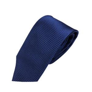 織り小柄シリーズ 日本製シルク100% ブルー