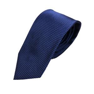 無地・織柄シリーズ シルク100% ネイビー&ブルー