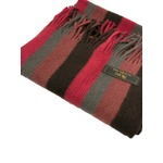 おすすめ 機屋直仕入れ 日本製カシミヤ100% 織マフラー マルチストライプマフラー 2