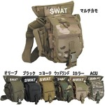 U. S.・ SWAT・レッグポーチ ・ショルダー・2WAYバッグ レプリカ ウッドランド