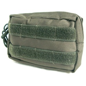 モール対応防水布使用 ウェストポーチ オリーブ