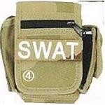 アメリカ SWAT部隊多機能ベルトポーチ 復刻番 3カラーデザート
