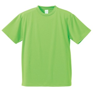 UVカット・吸汗速乾・5枚セット・4.1オンスさらさらドライ Tシャツブライトグリーン XXL