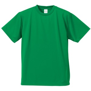 UVカット・吸汗速乾・5枚セット・4.1オンスさらさらドライ Tシャツ グリーン 160cm