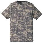 自衛隊海外派遣使用・立体裁断・吸汗速乾さらさらドライ 迷彩 Tシャツ ACUS