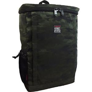 VI SION(ビジョン)ラップトップ収納ポケット&PC用衝撃緩和材入りスクエア型バッグバッグ GREEN JACQUARD CA MO