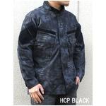 3Dステレスオペレーターリップストップジャケット ブラック S