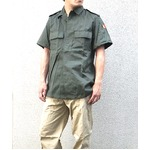 ベルギー軍放出 フィールドシャツ未使用デットストック 《48M相当》