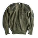 イタリア軍放出ウールコマンドセーター未使用デットストック