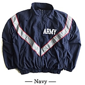 US ARMY IPFU 防風撥水加工大型リフレクタージャケットレプリカ ネイビー S