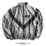 US ARMY IPFU 防風撥水加工大型リフレクタージャケットレプリカ グレー S