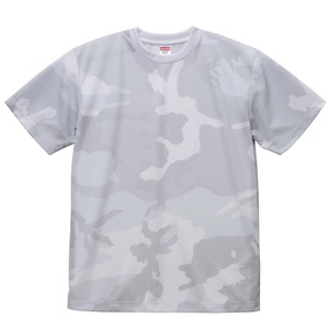UVカット・吸汗速乾・4.1オンス ドライアスレッチック カモフラージュTシャツ2枚セット  XL  ホワイトウッドランド×ホワイトウッドランド