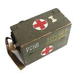 チェコ国軍放出メディカルウッドボックスS中古 1個
