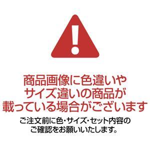 押圧敷布団 【シングルサイズ】 厚さ8cm マジックテープ式ベルト付き 日本製 ブルー(青)