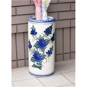 ハンドメイド陶器傘立て青花