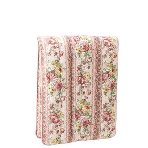 少し小さな軽量3層ボリューム敷布団 ピンク色