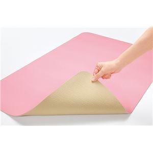 お風呂洗い場マット ピンク 60×90cm