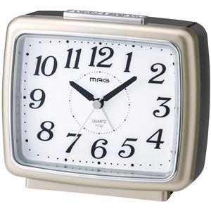 夜間点灯目覚まし時計 ブリリアンシャンペンゴールド
