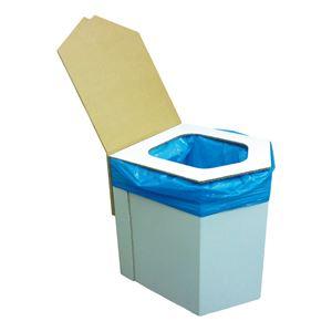洋式簡易トイレ(凝固剤・袋10回付) BR-001