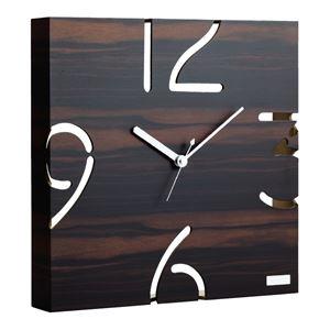 掛時計 YK09-104(黒檀)