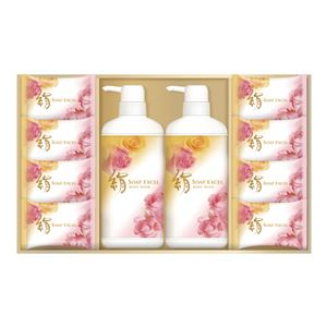 絹石鹸 絹石鹸 エクセルボディソープセットKESB30