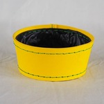 SUKI ボールラウンド 外径20cm イエロー 【2個入り】/樹脂製ポット